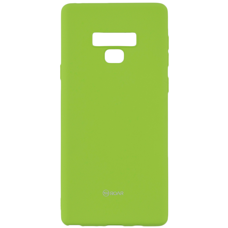 Husa Samsung Galaxy Note 9 Roar Colorful Jelly Case - Verde Mat