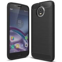 Husa Motorola Moto G5S TPU Carbon Negru