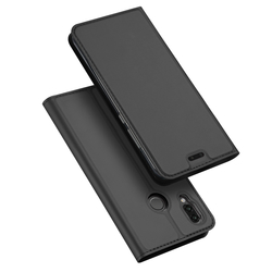 Husa Huawei P20 Lite Dux Ducis Flip Stand Book - Gri