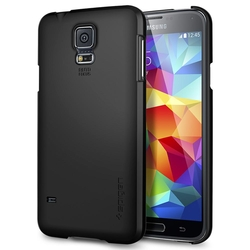 Bumper Spigen Samsung Galaxy S5 Ultra Fit - Smooth Black