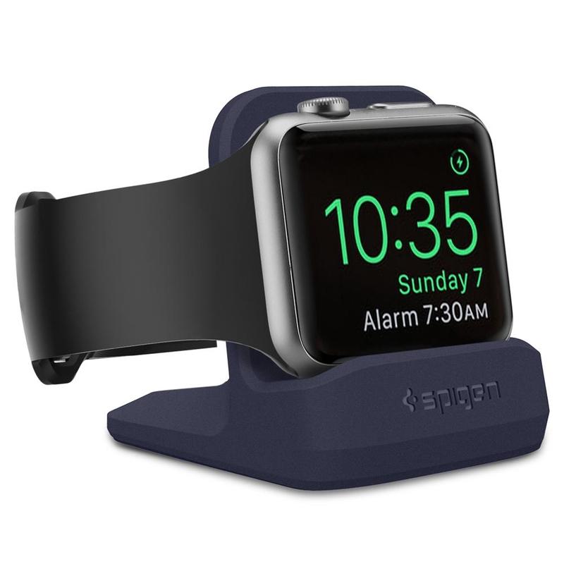 Suport Apple Watch Pentru Birou Spigen S350 - Albastru
