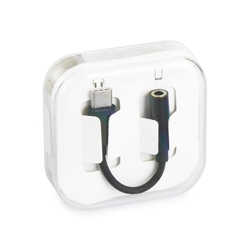 Convertor Type-C - Jack 3.5mm Box - Negru
