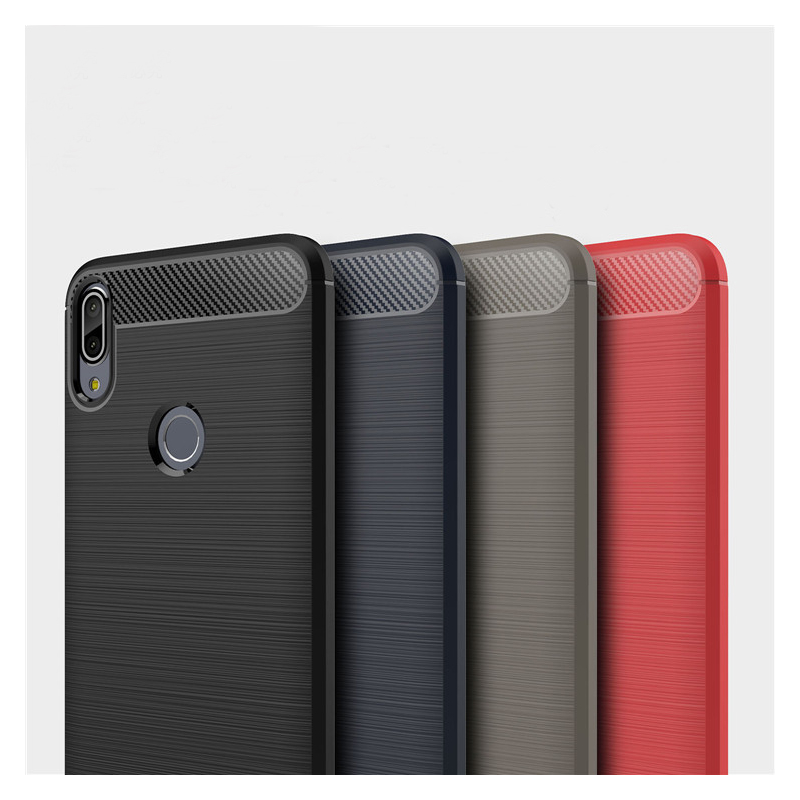 Husa Asus Zenfone Max Pro (M1) ZB601KL TPU Carbon Negru