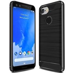 Husa Google Pixel 3 TPU Carbon Negru