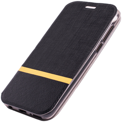 Husa HTC Desire 12 Plus Flip Slim Fit Mobster - Negru