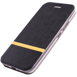 Husa Motorola Moto E4 Plus Flip Slim Fit Mobster - Negru