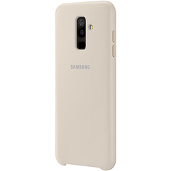 Husa Originala Samsung Galaxy A6 Plus 2018 Dual Layer Cover - Gold