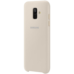Husa Originala Samsung Galaxy A6 2018 Dual Layer Cover - Gold