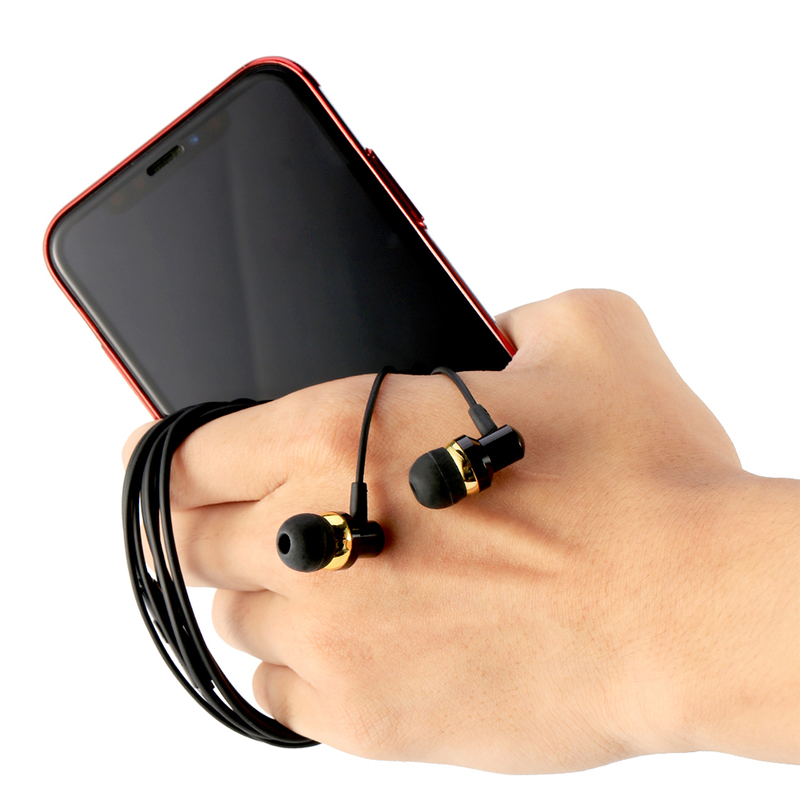 Casti In-Ear Cu Microfon WK-Design WI90 - Negru