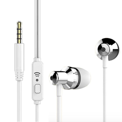 Casti In-Ear Cu Microfon WK-Design WI90 - Alb