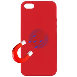 Husa iPhone 5 / 5s / SE Soft Magnet TPU - Rosu