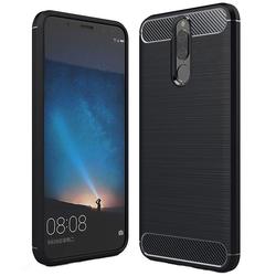 Husa Huawei Mate 10 Lite TPU Carbon Negru