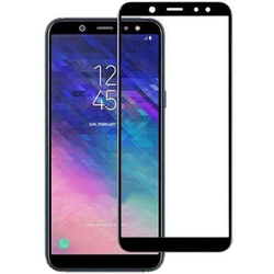 Folie Sticla Samsung Galaxy A7 2018 FullGlue Mobster - Black