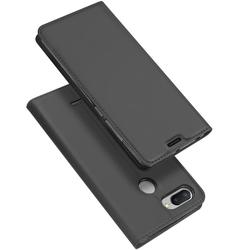 Husa Xiaomi Redmi 6 Dux Ducis Flip Stand Book - Gri
