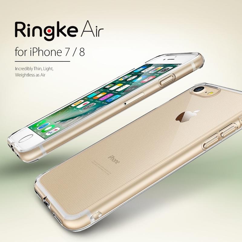 Husa iPhone 7 Ringke Air - Smoke Black
