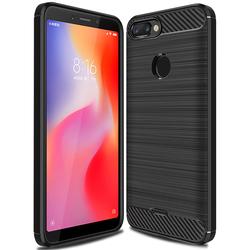 Husa Xiaomi Redmi 6 TPU Carbon Negru