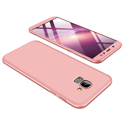 Husa Samsung Galaxy J4 Plus GKK 360 Full Cover Roz