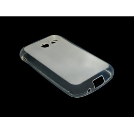 Husa Samsung Galaxy Pocket 2 G110 TPU Alb transparent