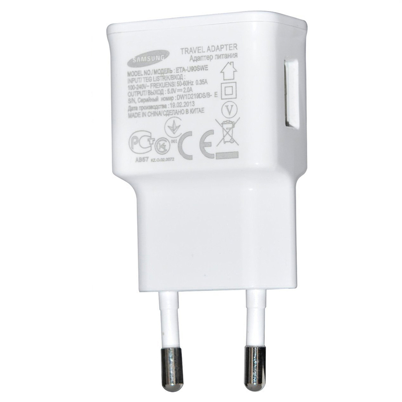 Incarcator Priza Original Samsung TA12EWE 2.0A USB Bulk- Alb