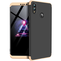 Husa Huawei Honor Note 10 GKK 360 Full Cover Negru-Auriu