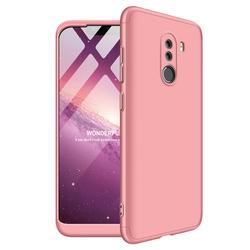 Husa Xiaomi Pocophone F1 GKK 360 Full Cover Roz
