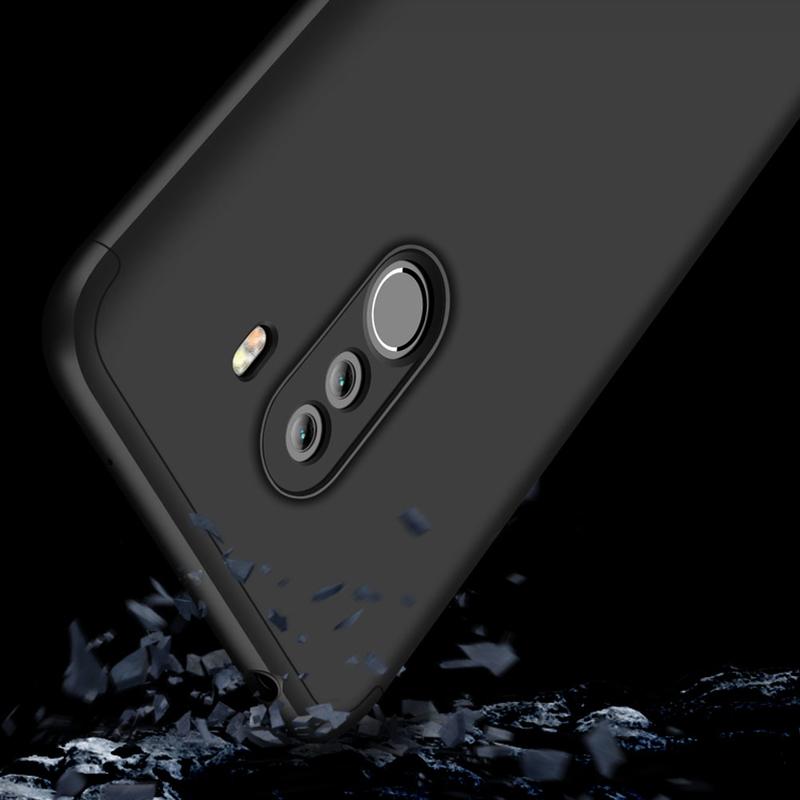 Husa Xiaomi Pocophone F1 GKK 360 Full Cover Negru