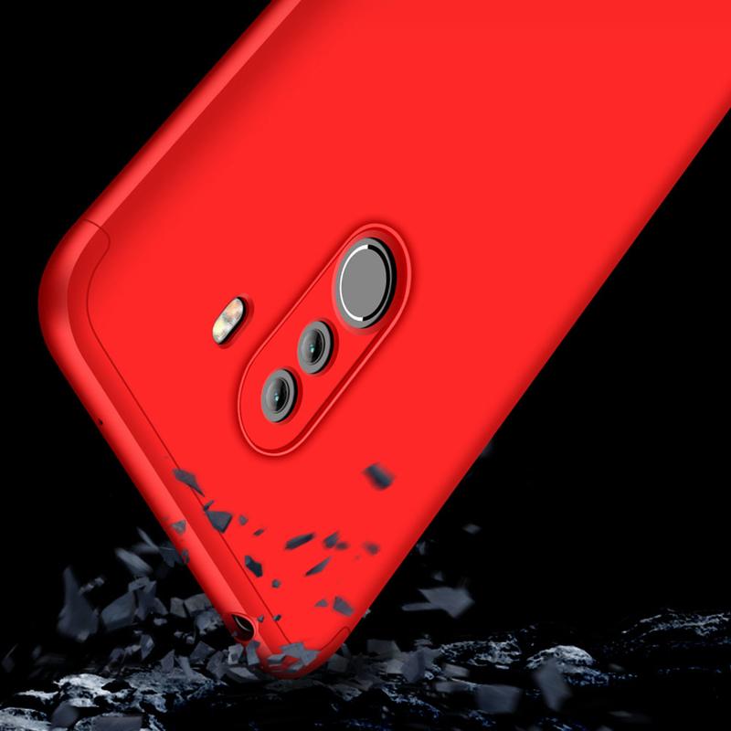 Husa Xiaomi Pocophone F1 GKK 360 Full Cover Rosu