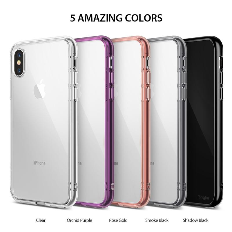 Husa iPhone XS Ringke Fusion - Transparent