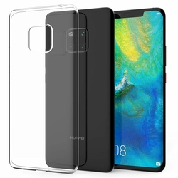Husa Huawei Mate 20 Pro TPU UltraSlim Transparent