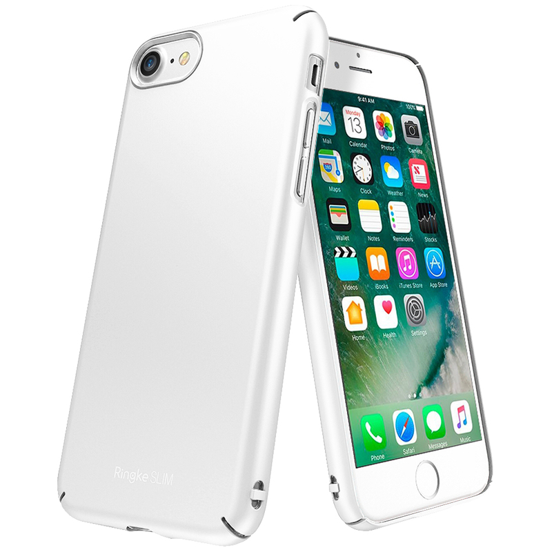 Husa iPhone 7 Ringke Slim - Frost White