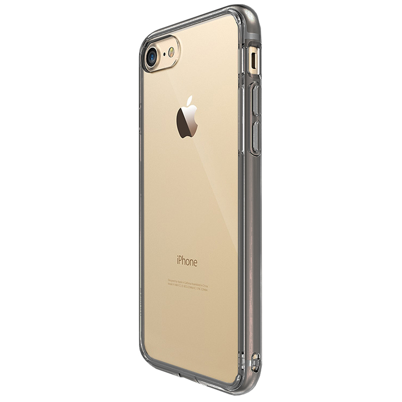 Husa iPhone 8 Ringke Fusion - Smoke Black