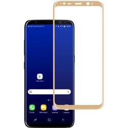 Folie Sticla Samsung Galaxy A7 2018 FullGlue Mobster - Gold