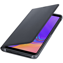Husa Originala Samsung Galaxy A7 2018 Flip Wallet Black