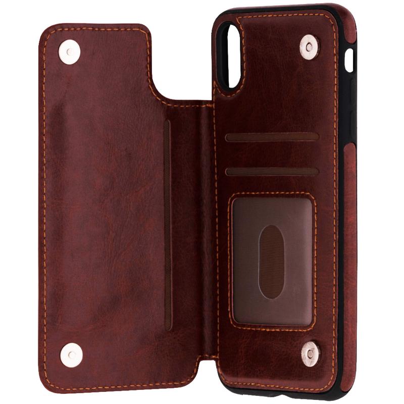 Bumper iPhone XS Max Mobster Wallet - Maro