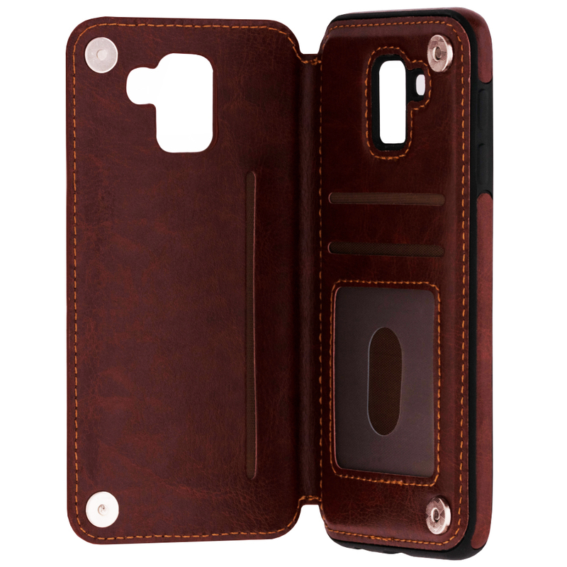 Bumper Samsung Galaxy J6 2018 Mobster Wallet - Maro