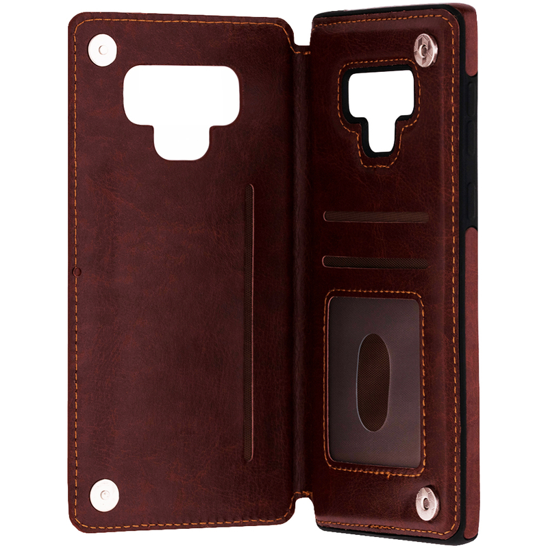Bumper Samsung Galaxy Note 9 Mobster Wallet - Maro