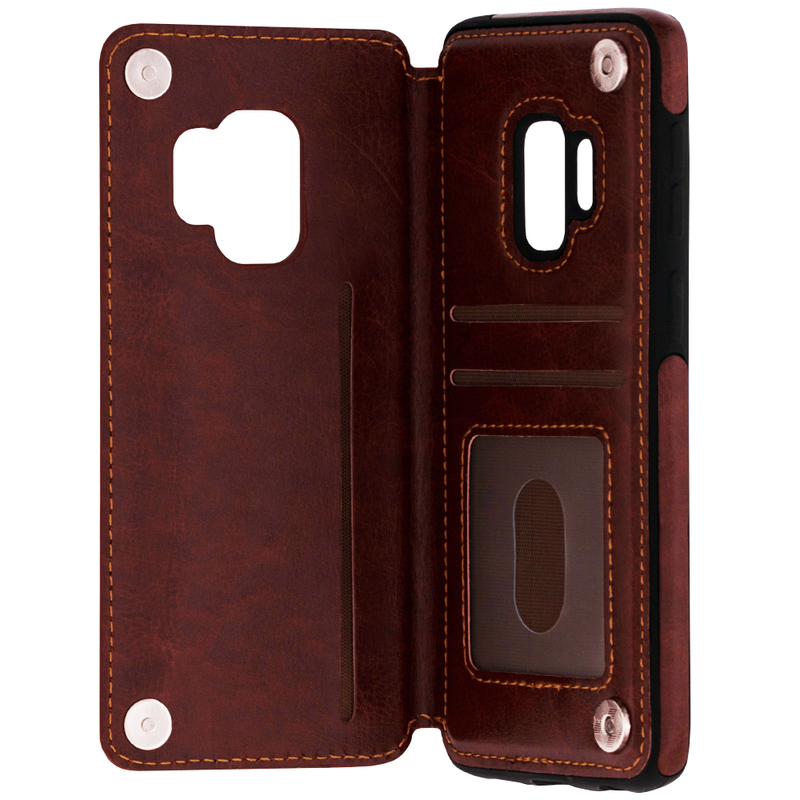 Bumper Samsung Galaxy S9 Mobster Wallet - Maro