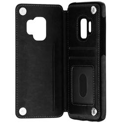 Bumper Samsung Galaxy S9 Mobster Wallet - Negru