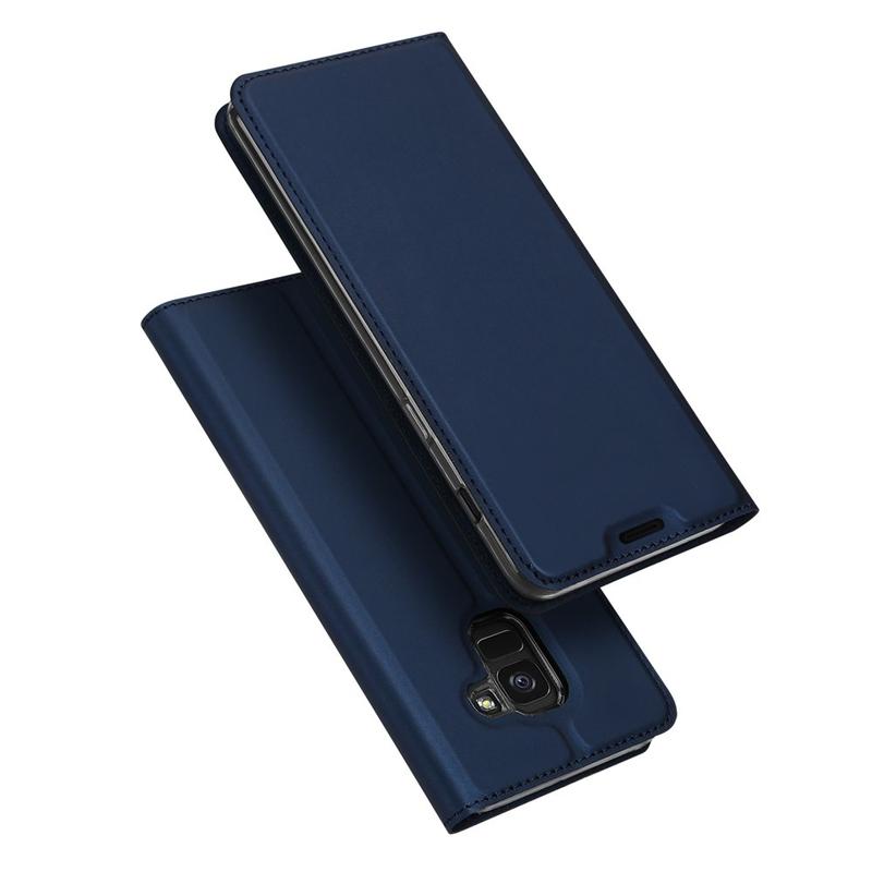 Husa Samsung Galaxy J6 2018 Dux Ducis Flip Stand Book - Albastru