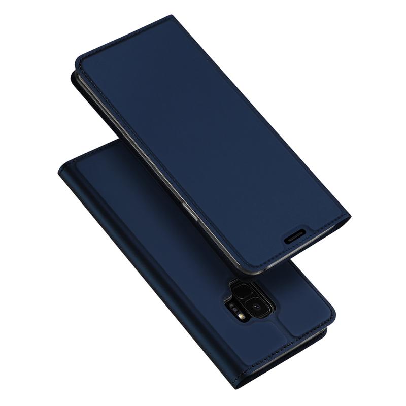 Husa Samsung Galaxy S9 Dux Ducis Flip Stand Book - Albastru