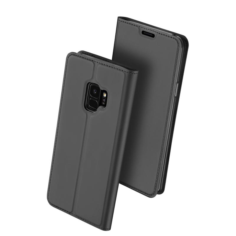 Husa Samsung Galaxy S9 Dux Ducis Flip Stand Book - Gri