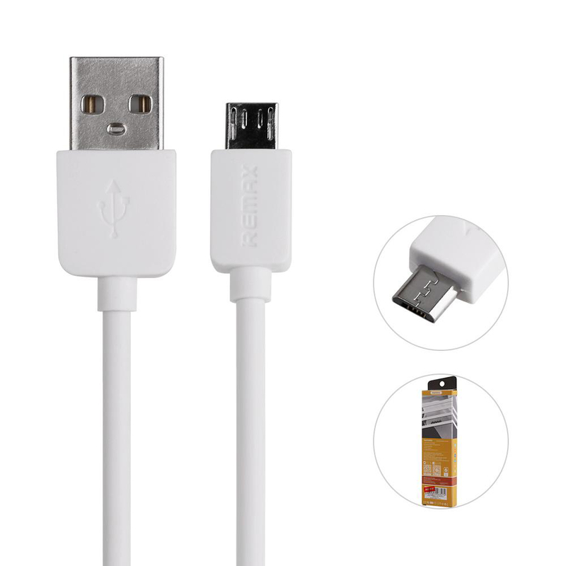 Cablu De Date Micro USB REMAX RC-06m - Alb