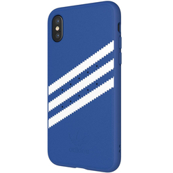 Bumper iPhone XS Adidas 3 Stripes Suede - Blue