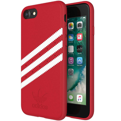 Bumper iPhone 8 Adidas 3 Stripes Suede - Red
