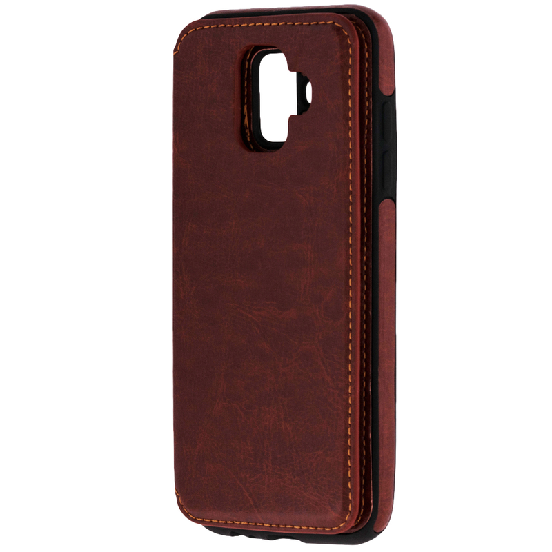 Bumper Samsung Galaxy A6 2018 Mobster Wallet - Maro