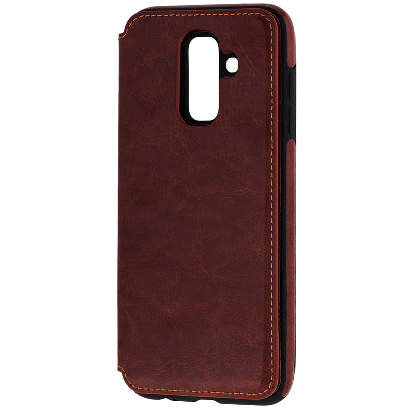 Bumper Samsung Galaxy A6 Plus 2018 Mobster Wallet - Maro