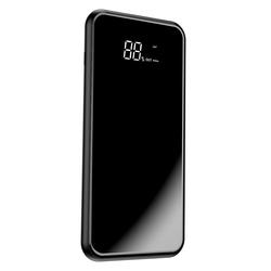 Acumulator extern 8000 mAh Baseus Bracket 2xUSB Si Incarcare Wireless - Negru