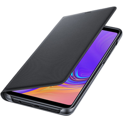 Husa Originala Samsung Galaxy A9 2018 Flip Wallet Black