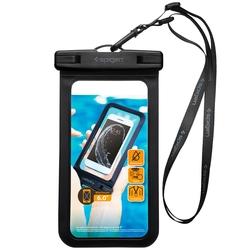 Husa Impermeabila Spigen Velo A600 pentru Telefoane 6.0 inch - Negru