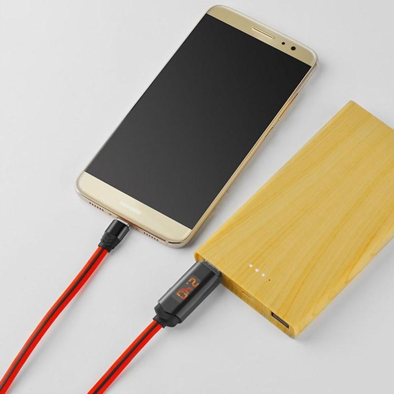 Cablu de date Type-C Hoco U29 1.2M 2.0A - Alb